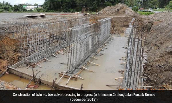 Construction progress as of December 2012.